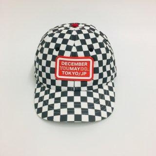 Checkered cap / unisex