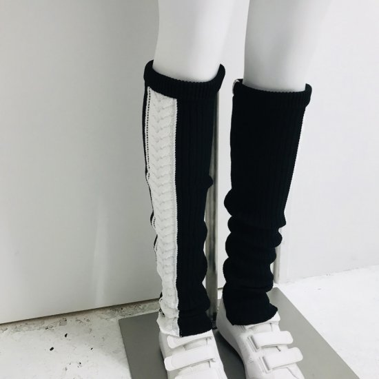 Cable Knit Leg warmers / women
