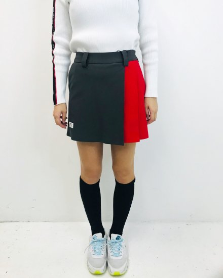 〈Wポイント 予約商品〉Italian Bycolors Pleated Skirt / women