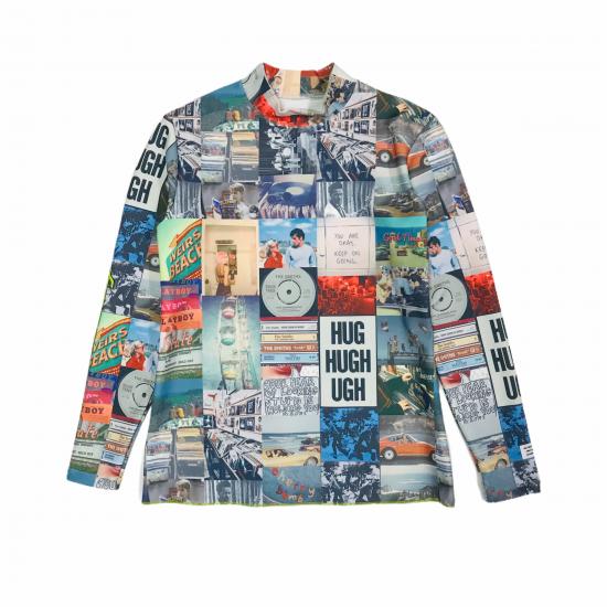 Rockaway mockneck shirt / women