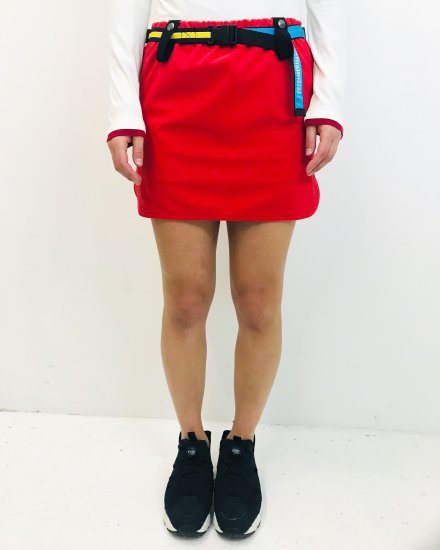 〈 NEW ARRIVAL 〉Belt attached some-tight Skirt / women