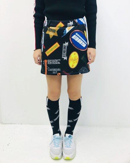 <即日出荷>Adorable collage skirt / women