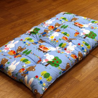 幼稚園・保育園のお昼寝ふとんに最適 合繊入り綿敷きふとん