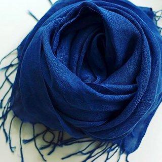 藍染ストール (麻)真−Shin−【徳島県/Saai】