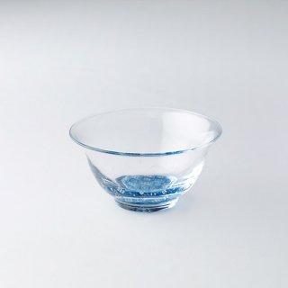 【青森県/白神ガラス工房】こぎん硝子 中鉢(ガラスボウル)