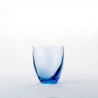 【青森県/白神ガラス工房】ゆらめきグラス ロング