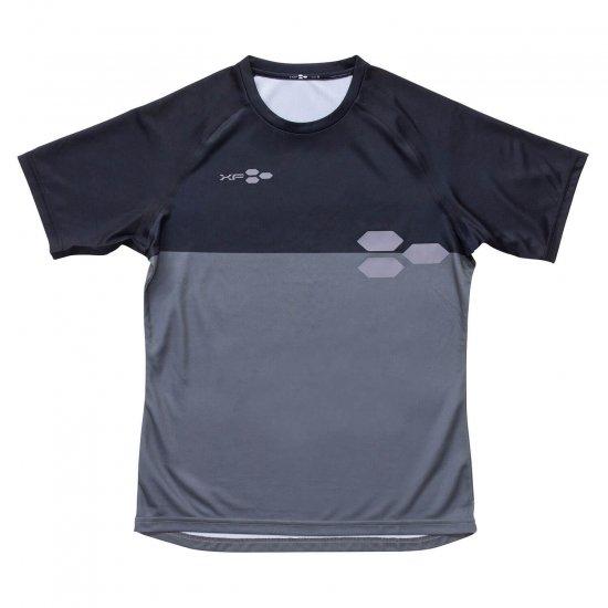 ドライTシャツ XF01 ブラック