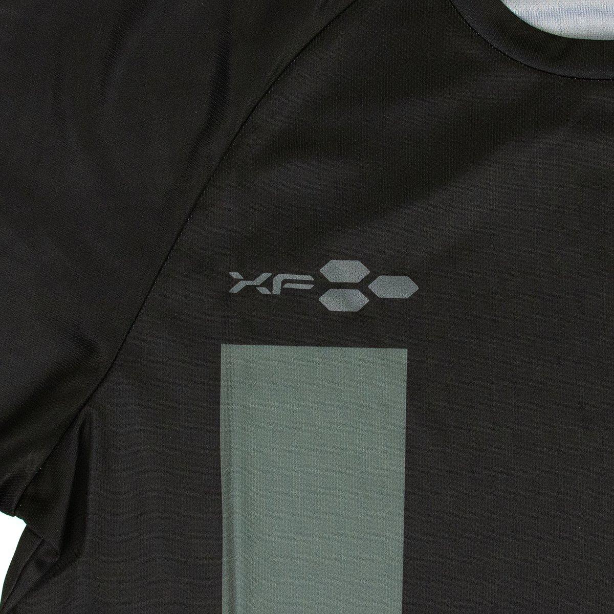 ドライTシャツ XF02 ブラック