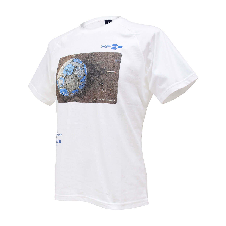 Tシャツ XF06 FOOTRACK ホワイト