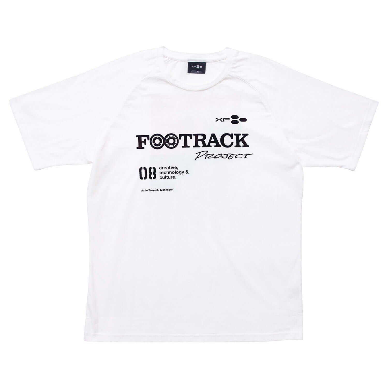 Tシャツ XF08 FOOTRACK ホワイト