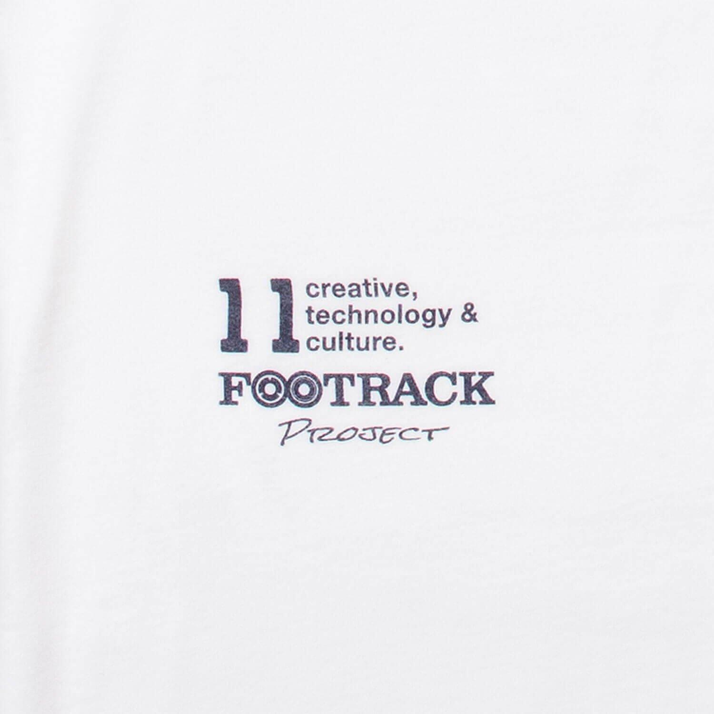 Tシャツ XF11 FOOTRACK ホワイト