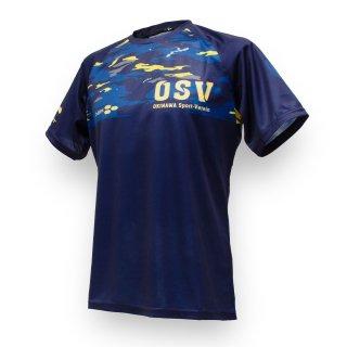 沖縄SV(OSV) ドライTシャツ 迷彩 ネイビー