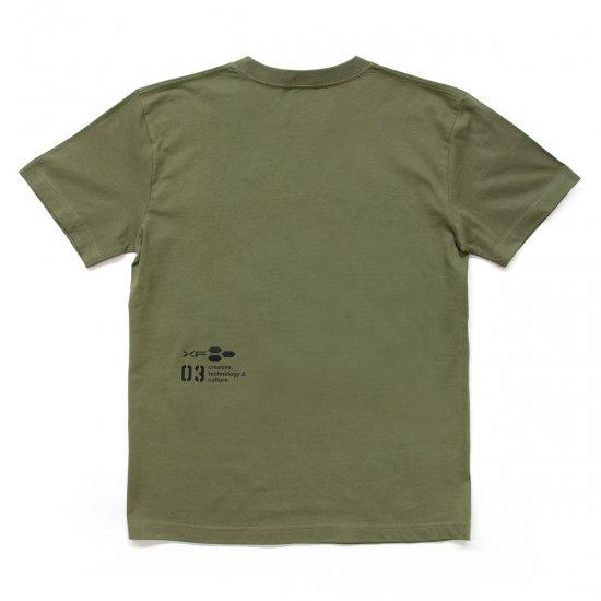 Tシャツ XF03 カーキ
