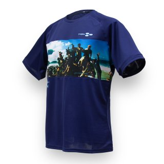 Tシャツ XF07 FOOTRACK ネイビー