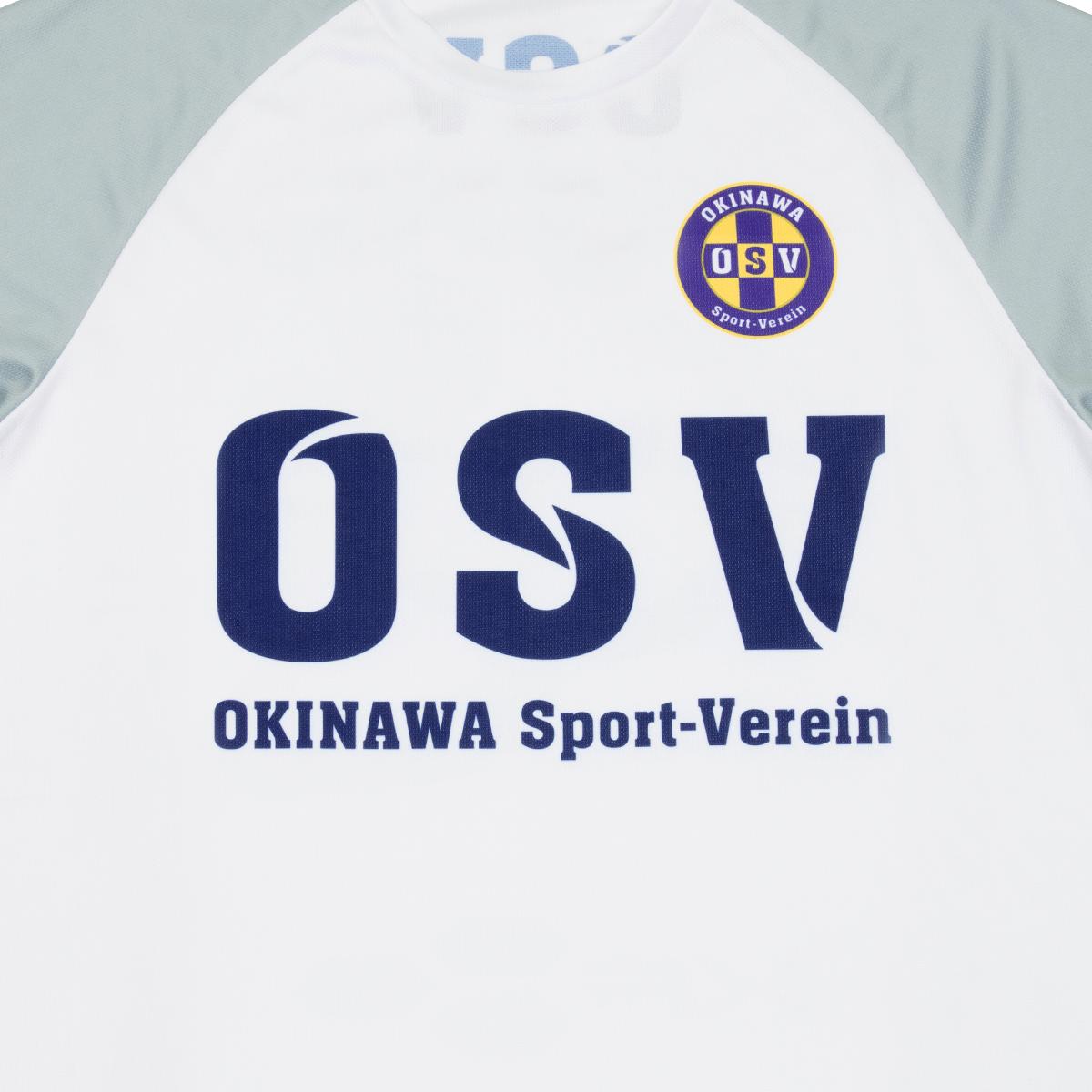 <img class='new_mark_img1' src='https://img.shop-pro.jp/img/new/icons8.gif' style='border:none;display:inline;margin:0px;padding:0px;width:auto;' />沖縄SV ドライ スローガンTシャツ ホワイト