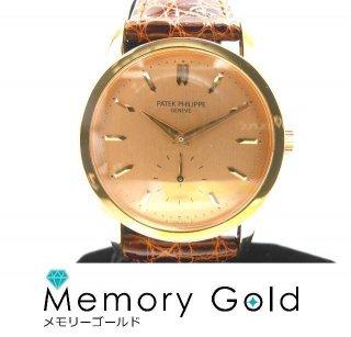 パテック フィリップ カラトラバ 3796 RG K18 手巻き ローズゴールド 良品 正規品 付属ありA15272