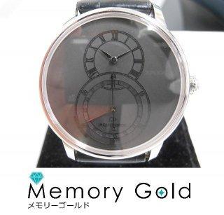 JAQUET DROZ グラン・セコンド カンティエーム オールブラック ギャラあり 腕時計 美品 正規品A31883