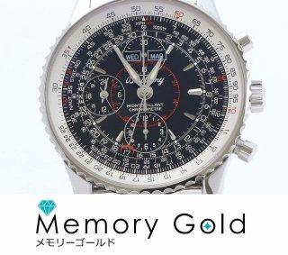 BREITLING ブライトリング モンブリラン ダトラ 美品 付属あり メンズ 腕時計 正規品A15059