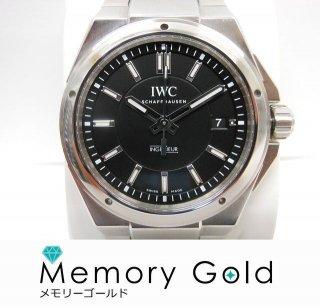 IWC インヂュニア IW323902 黒文字盤 デイト メンズ 腕時計 正規品 付属あり 写真参照A16136