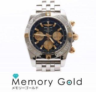 ブライトリング クロノマット44 IB0110B68PA メンズ 腕時計 自動巻き SS K18 正規販売店購入品 付属品あり 美品 AS21942