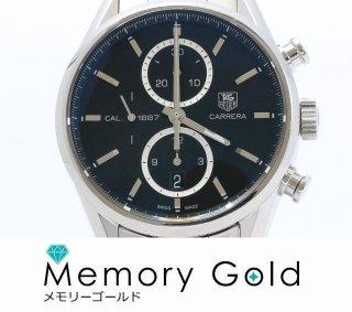タグホイヤー カレラ CAR2110 1887 クロノ メンズ 腕時計 正規品 付属あり 写真参照 管理A14993