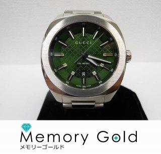 GUCCI グッチ メンズ 腕時計 グリーン文字盤 美品 付属あり 正規品 142.3 GG2570 写真参照 管理A34093
