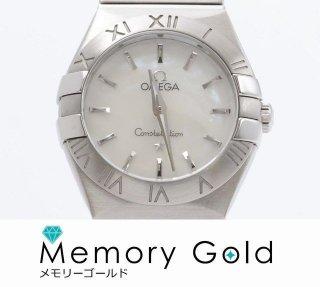 オメガ コンステレーション レディース ホワイトシェル ギャラ 説明書あり 正規品 美品 写真参照 腕時計 管理A34100
