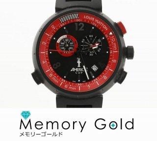 ヴィトン タンブール アメリカズカップ 限定1851本 774 メンズ 良品 腕時計 正規品 限定品 現品限り 写真参照 管理A34373