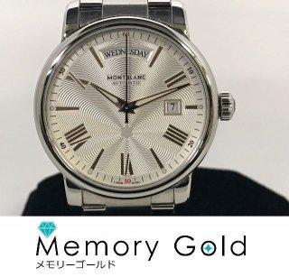 モンブラン MONTBLANC デイデイト 114854 裏スケルトン メンズ 腕時計 自動巻き 正規品 本体のみ 管理A34823