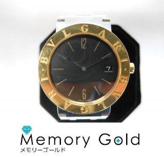 BVLGARI ブルガリ ブルガリ BB33SGD クオーツ メンズ 腕時計 中古品 正規品 A16466