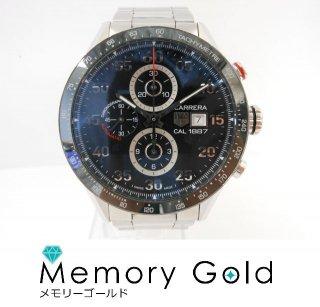 TAG Heuer タグホイヤー カレラ CAR2A10 サファイアクリスタル スケルトン メンズ 腕時計 正規品 A16674