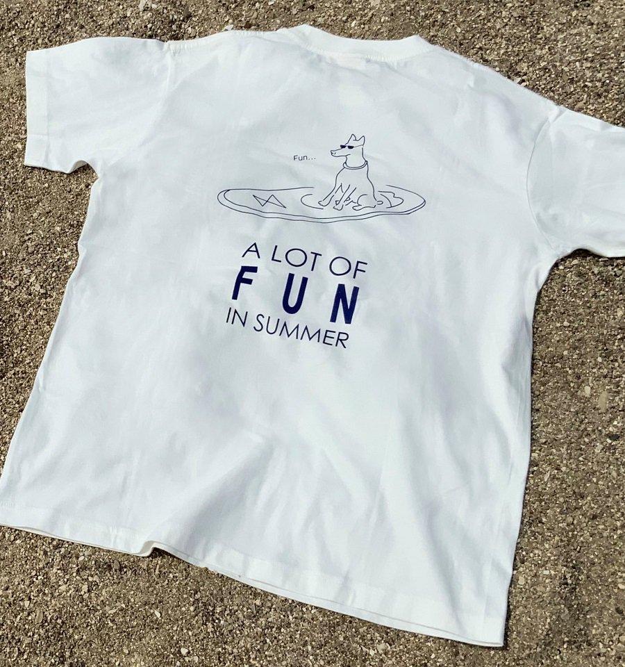 FUN[オーガニックコットンTシャツ]