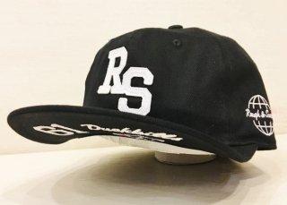 ラフアンドスウェル キャップ 黒 rough&swell J.P.CAP ラフ&ウェル正規取扱店 メンズ ゴルフ 帽子