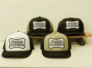 スタンダードカリフォルニア ロゴ ワッペン メッシュ キャップ STANDARD CALIFORNIA LOGO WAPPEN MESH CAP