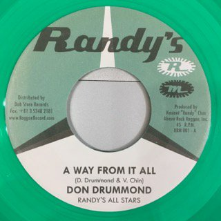 DON DRUMMOND/A WAY FROM IT ALL