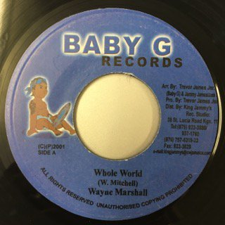 WAYNE MARSHALL/WHOLE WORLD