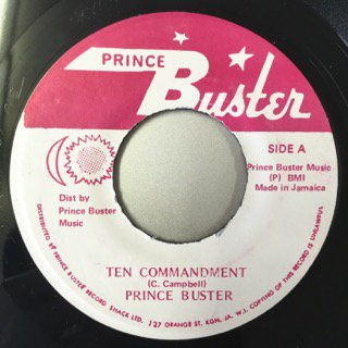 PRINCE BUSTER/TEN COMMANDMENTS