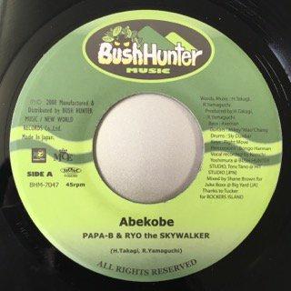 PAPA-B&RYO THE SKYWALKER/ABEKOBE