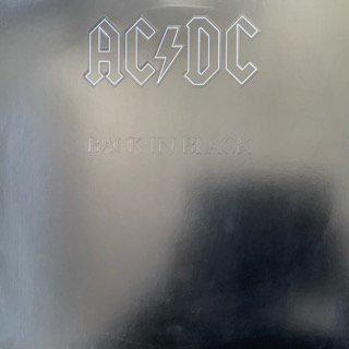 AC/DC /バック・イン・ブラック AC/DC /BACK IN BLACK