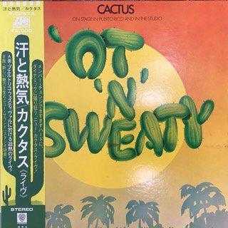 カクタス/汗と熱気《ライヴ》 CACTUS /'OT'N' SWEATY