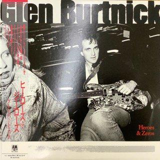 グレン・バートニック/ヒーローズ・アンド・ジーローズ GLEN BURTNICK/HEROS AND ZEROS