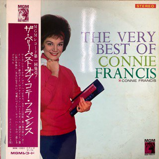 コニー・フランシス/ベリー・ベスト・オブ・コニー・フランシス CONNIE FRANCIS/THE BEST OF CONNIE FRANCIS