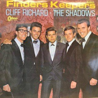 クリフ・リチャード・シャドウズ/映画「太陽をつかもう」サウンドトラック CLIFF RICHARD・SHADOWS/FINDERS KEEPERS