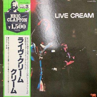 クリーム/ライヴ・クリーム CREAM/LIVE CREAM