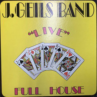 J・ガイルズ・バンド/ライヴ・フルハウス J GEILS BAND/LIVE FULL HOUSE