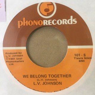 L.V.JOHNSON/WE BELONG TOGETHER