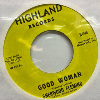 Sherwood Fleming/Good Woman