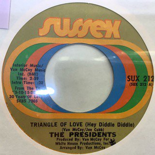 THE PRESIDENTS/TRIANGLE OF LOVE
