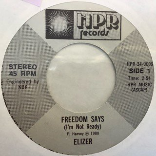 ELIZER/FREEDOM SAYS