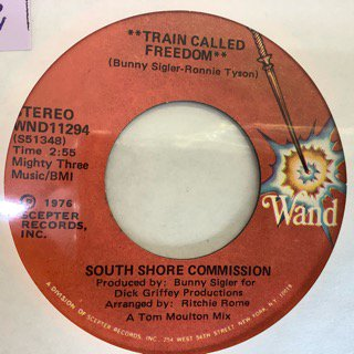 SOUTH SHORE COMMISSION/TRAIN CALLED FREEDOM
